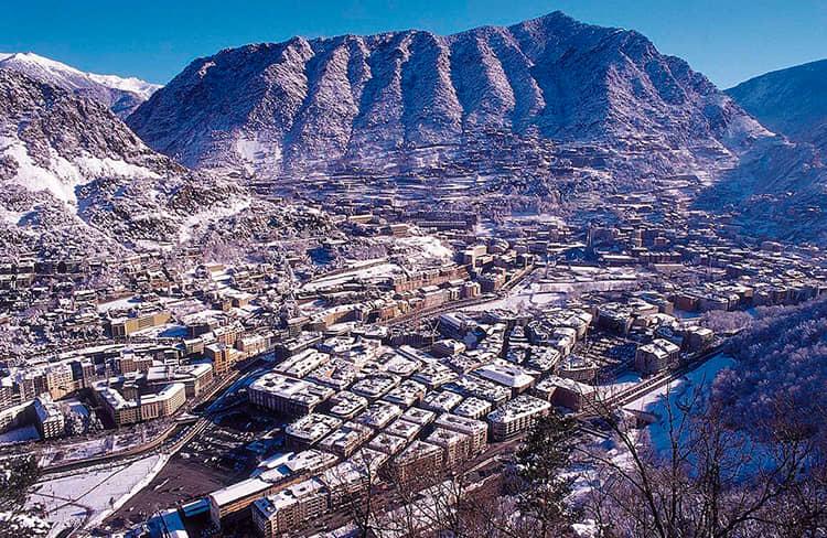 Andorra la vella - estación de esquí de Vallnord -