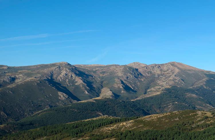 Sierra de Ayllón - estación de esqui La Pinilla -