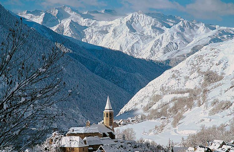 Valle de Aran - esqui en Baqueira Beret -