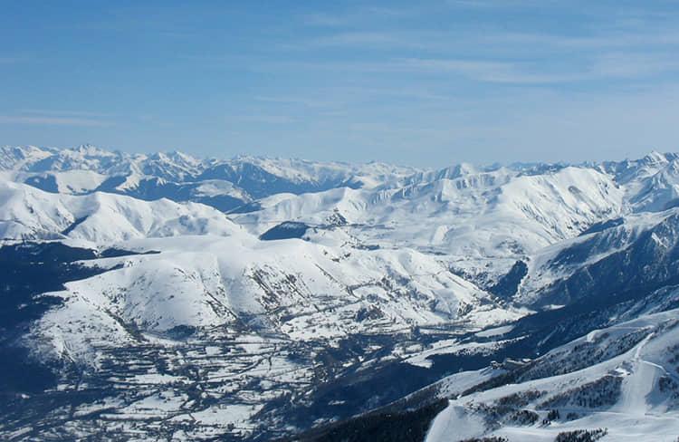 Valle de Aure - estación de esqui de saint Lary -