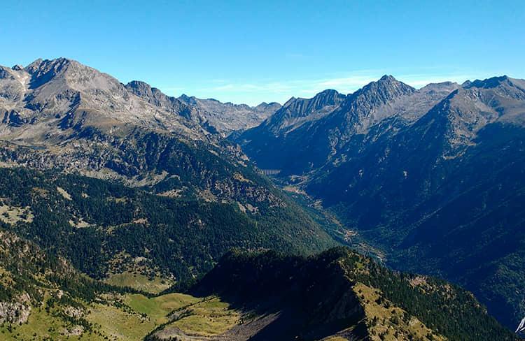 Valle Bohi - estación deesqui de Boi taull -