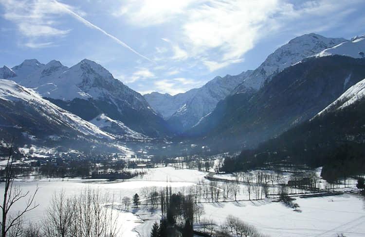 Valle Louron - estación de esqui de Peyragudes
