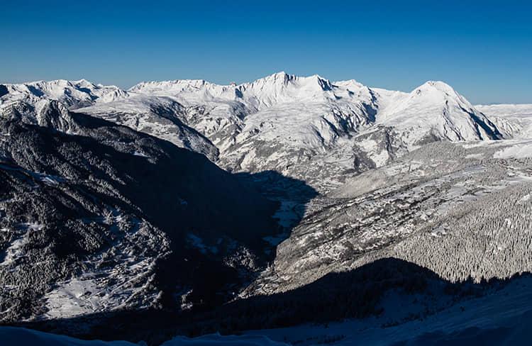 Valle de Tarentaise - estación de esquí de Tignes -