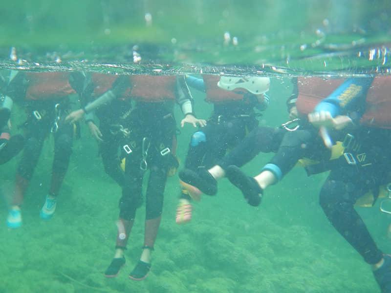 Actividades acuáticas para colegios.