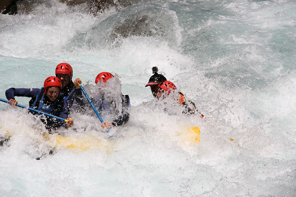 Rafting + Parapente Adrenalina Asegurada