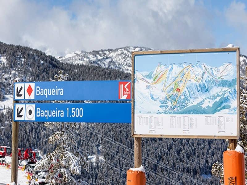 Esqui en Baqueira-Beret