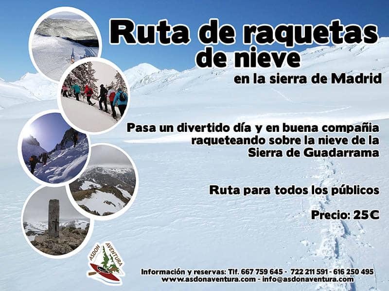 Raquetas en Navacerrada