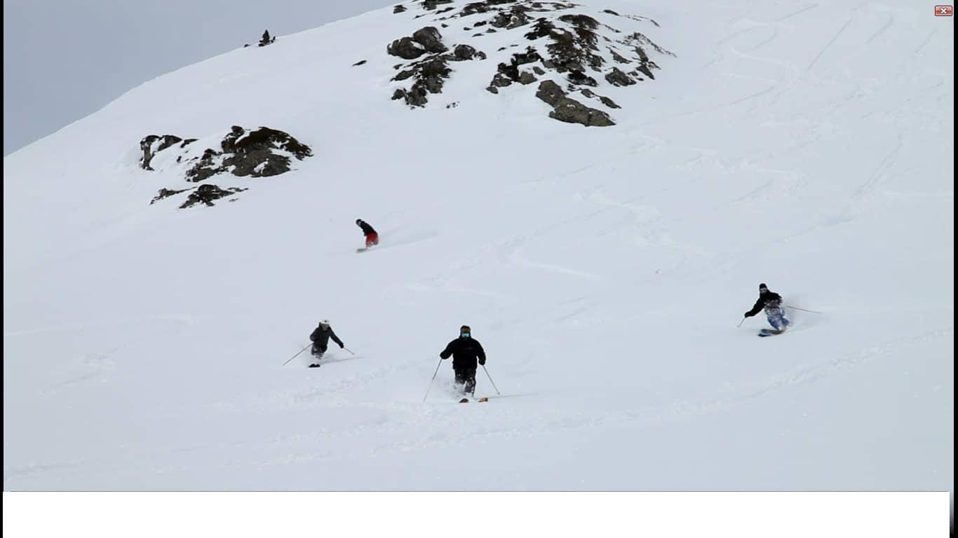 Esqui en Astun Navidad