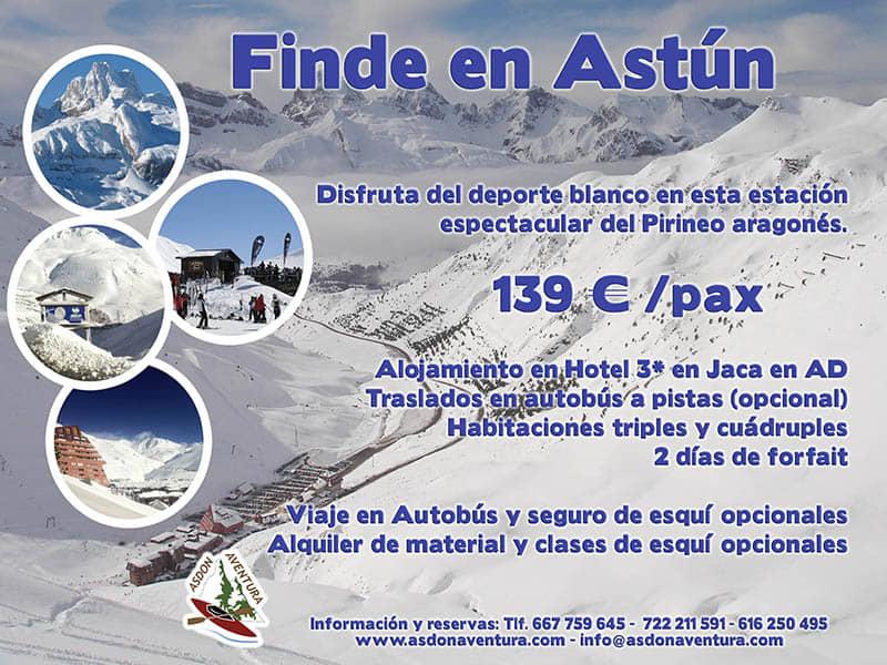 Esqui en Astun