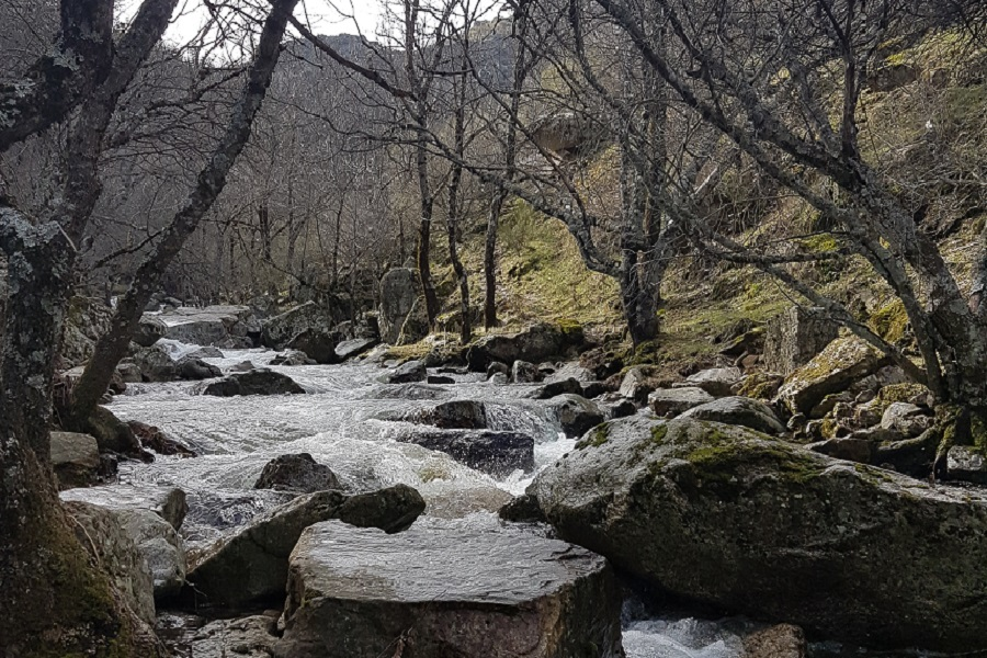 Cascada del Purgatorio (Rascafria),  Sierra Norte