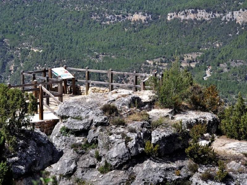 Mirador del Tajo en Zaorejas